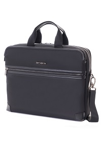 Zeppa Laptop Briefcase M Black medium | Samsonite