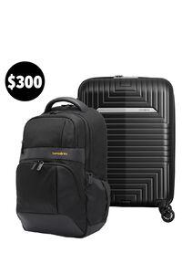 D200 55/20 Exp (Matte Black) & Ikonn Backpack Set