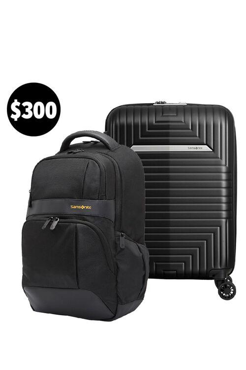 D200 55/20 Exp (Matte Black) & Ikonn Backpack Set