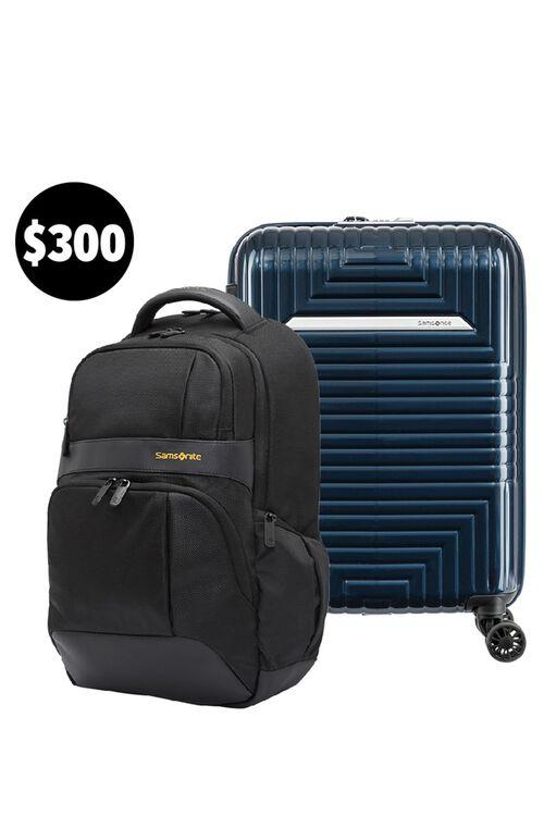 D200 55/20 Exp (Midnight Blue) & Ikonn Backpack Set