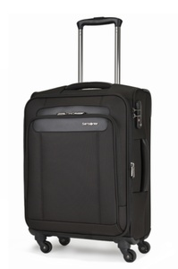 Samsonite Satara Spinner 55cm/20inch Black medium | Samsonite