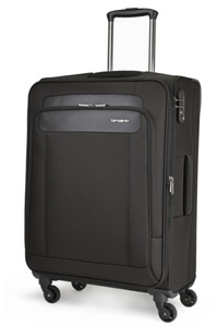Samsonite Satara Spinner 66cm/24inch Black medium | Samsonite
