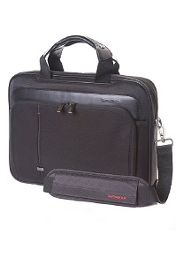 Samsonite Essence Pro Laptop Briefcase S Black medium | Samsonite