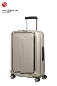 Samsonite Prodigy Spinner 55cm/20inch Ivory Gold medium | Samsonite