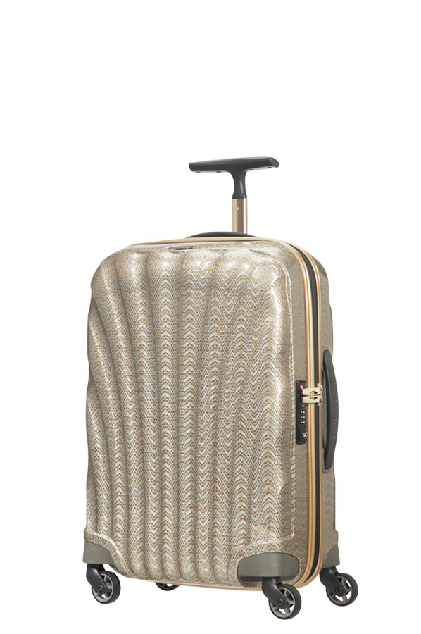 Samsonite Cosmolite Spinner 55cm/20inch FL 2 10Y Special Edition  Gold/ Silver large | Samsonite