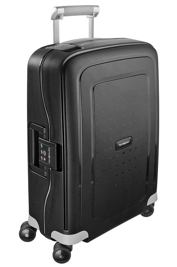 Samsonite S'Cure Spinner 55cm/20inch Black large | Samsonite