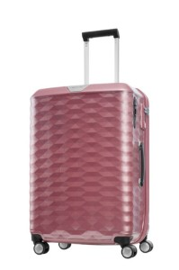Samsonite Polygon Spinner 69cm/25inch Pink medium | Samsonite