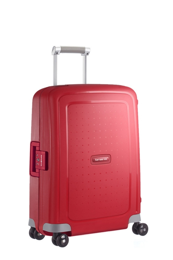 Samsonite S'Cure Spinner 55cm/20inch Crimson Red large | Samsonite