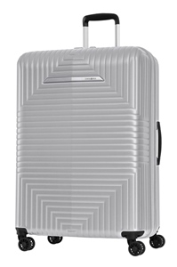 Samsonite D200 Spinner 75cm/28inch Exp Matt Silver medium | Samsonite