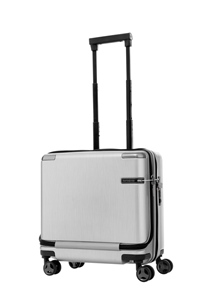Samsonite Evoa Spinner Rolling Tote Brushed Silver medium | Samsonite
