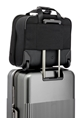 "Samsonite Openroad Rolling Tote 16.4"" Jet Black small 