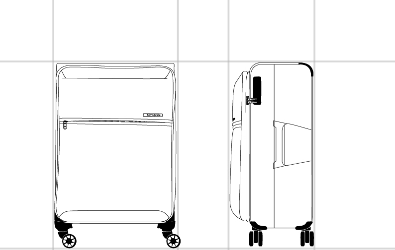 72H DLX SPINNER 55/20  dimension | Samsonite