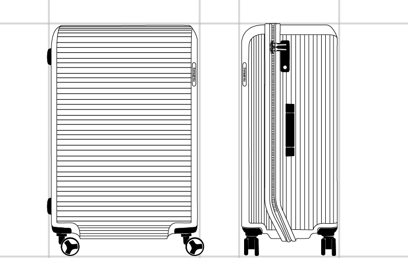 ARQ SPINNER 75/28  dimension | Samsonite
